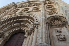 Zamora, catedral Foto de archivo