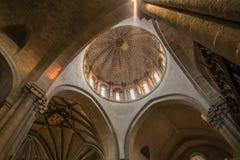 Zamora, catedral interior Foto de archivo libre de regalías