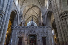 Zamora cathedral Royalty Free Stock Images