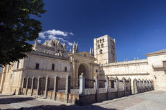 Zamora cathedral Royalty Free Stock Photo