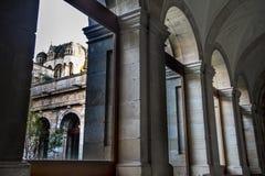 Zamora, cattedrale interna Fotografia Stock Libera da Diritti