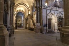 Zamora, cattedrale interna Fotografie Stock