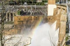 Zamora crosses a river Stock Images