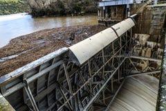 Zamora crosses a river Stock Photography