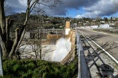Zamora crosses a river Royalty Free Stock Photos