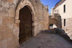 Zamora door of the bishop Royalty Free Stock Images