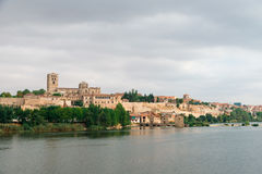 Zamora and Douro river Royalty Free Stock Images