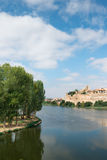 Zamora and Douro river Stock Photography