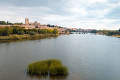 Zamora and Douro river Royalty Free Stock Photo
