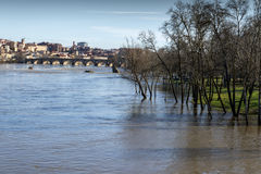 Zamora floods Royalty Free Stock Photos