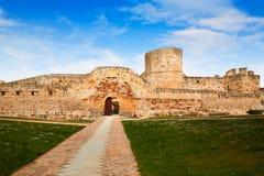 Zamora grodowy El Castillo w Hiszpania Obrazy Stock