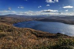 Zamora, het meer van Sanabria stock afbeelding