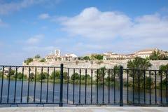 Zamora i Douro rzeka Obrazy Stock