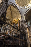 Zamora, interior cathedral Royalty Free Stock Images