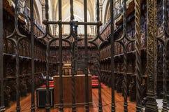 Zamora, interior cathedral Royalty Free Stock Photo