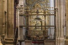 Zamora, interior cathedral Royalty Free Stock Photos