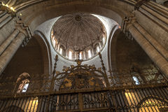 Zamora, interior cathedral Stock Photo