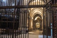 Zamora, interior cathedral Royalty Free Stock Image