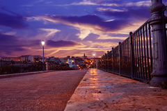 Zamora Puente DE Piedra brug op Duero Royalty-vrije Stock Foto's