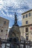 Zamora-Quadrat Viriato Lizenzfreies Stockbild