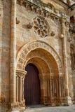 Zamora San Juan εκκλησία σε Plaza δήμαρχος Spain Στοκ εικόνα με δικαίωμα ελεύθερης χρήσης