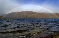 Zamora Sanabrias sjö fotografering för bildbyråer
