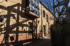 Zamora scaffolding Royalty Free Stock Images