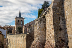 Zamora wall Stock Image