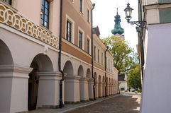 Zamosc city center, Poland Royalty Free Stock Photos