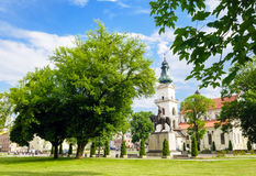 Zamosc city center, Poland Stock Photo