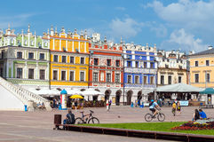 Zamosc city center, Poland Royalty Free Stock Image
