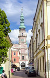 Zamosc city center, Poland Royalty Free Stock Photography
