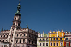 Zamosc City Old Town Stock Image
