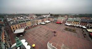 Zamosc City, Poland stock image