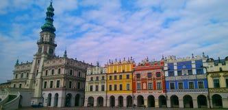 Zamosc market square