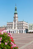 Zamosc old town Royalty Free Stock Images