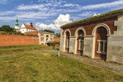 Zamosc - Renaissance city in Central Europe. Royalty Free Stock Photo