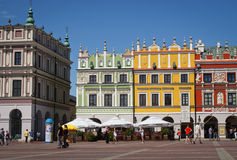 Zamosc renaissance city Poland Royalty Free Stock Image