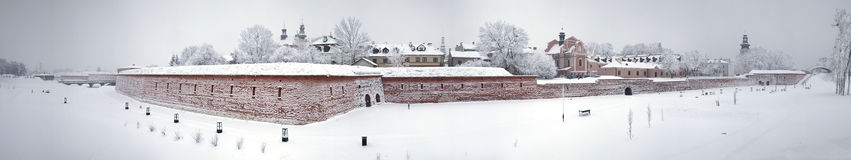 Zamosc - Renaissance city - view of the walls on the south side Stock Photo