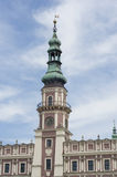 Zamosc - torre da herança fotos de stock royalty free