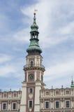 Zamosc - tour d'héritage photos libres de droits