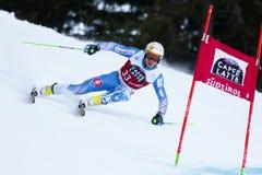 ZAMPA Adam in Audi Fis Alpine Skiing World-Kop Stock Afbeelding