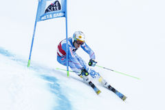 ZAMPA Adam in Audi Fis Alpine Skiing World-Kop Royalty-vrije Stock Fotografie