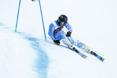 ZAMPA Andreas in Audi Fis Alpine Skiing World-Schale Men's-Riesen stockfotografie