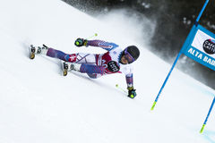 ZAMPA Andreas. Val Badia, Italy 21 December 2014. ZAMPA Andreas (Svk) competing in the Audi Fis Alpine Skiing World Cup Men's Giant Slalom on the Gran stock images