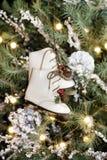 zamraża ornament łyżwy Zdjęcia Royalty Free