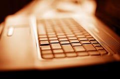 zamyka dof laptopu płyciznę płycizna Obraz Royalty Free