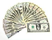Zamyka dolar dolar Fotografia Stock