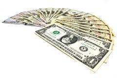Zamyka dolar dolar Obrazy Royalty Free