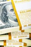 Zamyka dolar dolary Zdjęcie Stock
